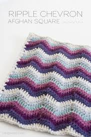 Chevron Pattern Crochet Extraordinary Ripple Chevron Afghan Square One Dog Woof