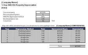 macrs 7 year macrs property depreciation