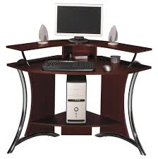 modern home office design displaying. Office Large-size Modern Home Furniture Design Displaying Triangle Ikea Dark Brown Polished Cherry E