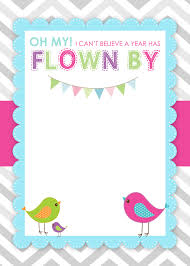 bird themed birthday party with fr cool st birthday party invitations free printable cute wall free