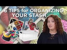 <b>6</b> Tips for Organizing Your <b>Yarn</b> Stash - YouTube