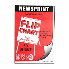 Croxley Enviro Text Paper Flipchart Sheets Punched 48gsm A1 Jd592 Per 1