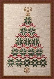 Simply Christmas Counted Cross Stitch Pattern Cross