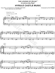 legend of zelda piano sheet music