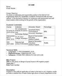 Civil Engineering Resume Format For Fresher Luxury 40 Fresher Resume Gorgeous Resume Of Civil Engineer Fresher