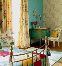 bohemian bedroom furniture. beautiful bohemian bedroom decor with floral chic curtain blue wall and pattern also wooden flooring furniture
