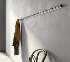 Commercial Coat Racks Wall Mounted Wallmounted coat rack contemporary aluminum commercial 13