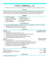 Sample Attorney Resume Solo Practitioner Sample Attorney Resumes Experienced Resume Summary Law Enforcement 17