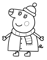 Coloriage Peppa Pig Colorier Dessin Imprimer Peppa Pig Coloriage Peppa Pig L