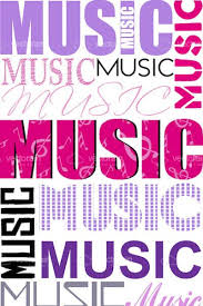 collage fonts free music text collage with different fonts vectorjunky free vectors