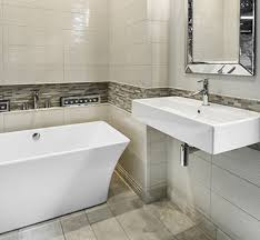 large format tile bathroom