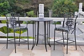 black wrought iron patio furniture. wrought iron patio furniture cushions black o