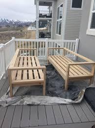 outdoor deck furniture ideas. Diy Deck Furniture Patio Best 25 Outdoor Ideas On