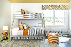 black and orange bedding gray bunk beds with black and white striped bedding black grey orange