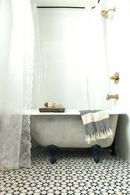 clawfoot tub shower curtain excellent great best eclectic shower curtain rods ideas on in wrap around