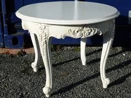 shabby chic round french rococo style coffee table