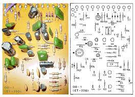 boss od 1 overdrive guitar pedal schematic diagram boss od 1 component side et 23d version