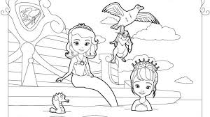 Small Picture Disney Junior Coloring Pages Sofia The First images Coloring Kids