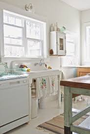 shabby chic kitchen furniture. before and after shabby chic to modern vintage kitchen makeover sink furniture i