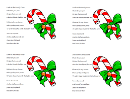 Perfect to share with your family & friends this christmas season. Candy Cane Poem About Jesus Free Printable Pdf Handout Christmas Story Object Lesson For Kids