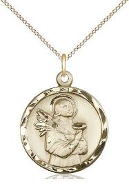 saint lucy medal 5435kt