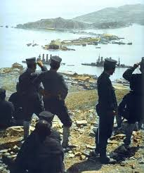 「1905, the Irtysh warship surrendered」の画像検索結果