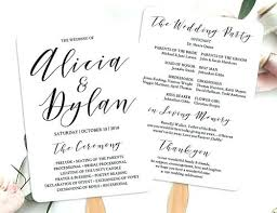 Wedding Program Fans Cheap Do You Need Wedding Programs Scoutandgather Co