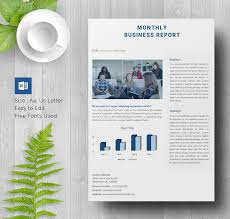 Sample Report Template For Business 35 Business Report Template Free Sample Example Format Download