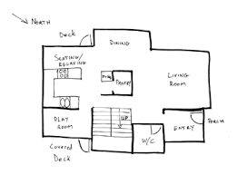 Simple Floor Plan Of A House Example 1 With Perfect Design