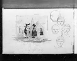From The Harvard Art Museums Collections Sketchbook 1869