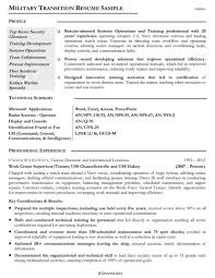 Professionally Written Resume Samples Rwd Military Civ Saneme