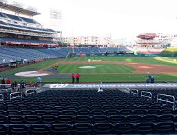 Washington National Seating Chart Views Nationals Park Section 130 Seat Views Seatgeek