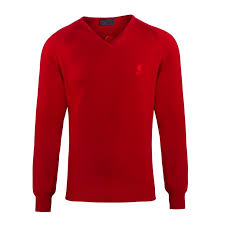 <b>LFC Signature</b> Collection Red V Neck Jumper | <b>Liverpool FC</b> Official ...