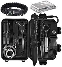 Lanqi Gifts for Men, Emergency Survival kit 14 in 1 ... - Amazon.com