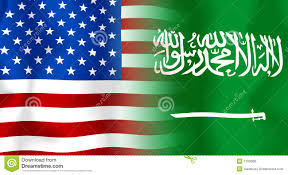 Image result for SAUDI AMERICA FLAG