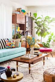Silverlake Modern Bohemian Living Room  Lesley Myrick Art  DesignBohemian Living Rooms