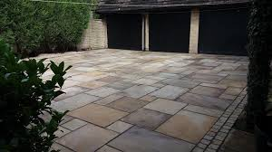 can i use paving slabs on my driveway