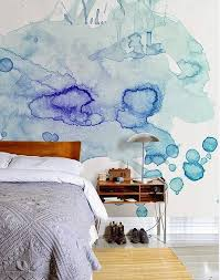 Watercolor on walls