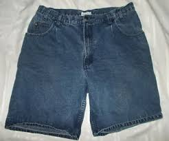 Mens Merona Denim Cotton Jean Shorts Size 40 Waist Ebay