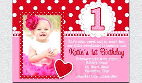 sle of birthday invitation cards 1 year old beautiful by invitations free printable
