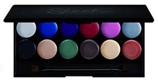 sleek i divine the primer palette mineral based eye shadow palette