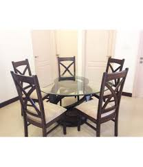 5 seater round dining table