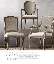 restoration hardware armchair lovely vintage french caned back chairs s e a t s