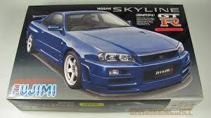 Nissan Skyline GT-R Nismo (BNR34) - Fujimi | Car-model-kit.com
