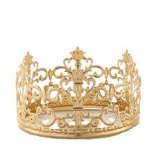 Princess Gold Crown Cake Topper Vintage Crown Small Gold Wedding