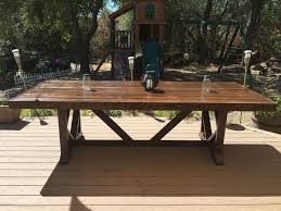 diy large outdoor dining table seats 10 12 seating with regard to diy prepare 16