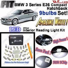 image is loading 9 bulbs white led interior light kit for