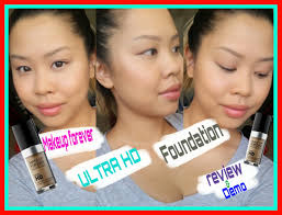 makeup forever ultra hd foundation review and demo