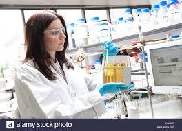Laboratory Technician Working In Lab Stock Photo 54930491