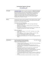 Plc Resume Sample Sample Resume For Plc Automation Engineer Archives Ondadrogues 2